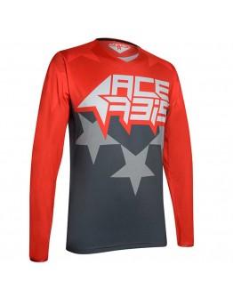 Acerbis MX Μπλούζα X-Flex Starchaser Red/Gray