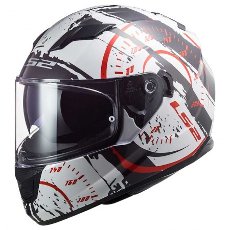 LS2 FF320 Stream Evo Tacho White/Black/Red