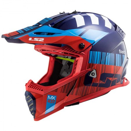 LS2 MX437 Evo XCode Red/Blue