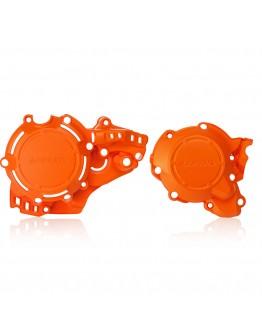 Acerbis Προστατευτικό Κάλυμμα Κινητήρα X-Power KTM/Husqvarna Orange 16