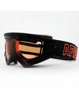 Ariete Μάσκα MX Mudmax Double Air Black/Orange