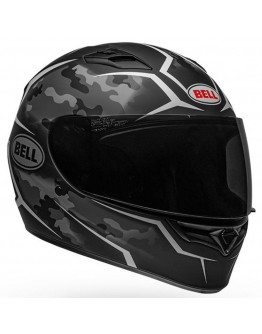 Bell Qualifier Stealth Camo Matte Black/White