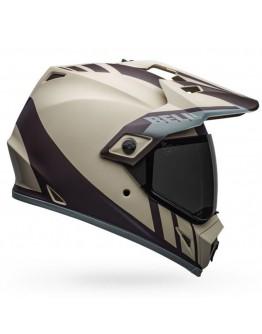 Bell MX-9 Adventure Mips Dash Matt Sand Brown Gray