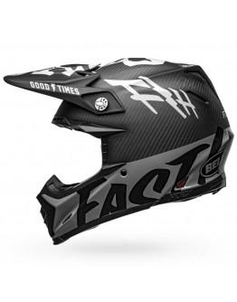Bell Moto-9 Flex Fasthouse WRWF Matt Black/White/Gray