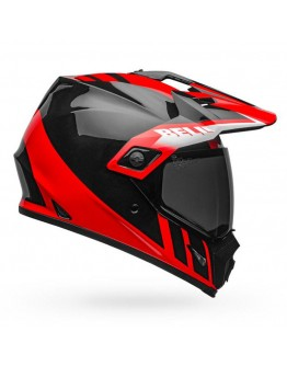 Bell MX-9 Adventure Mips Dash Black Red White