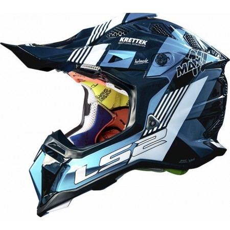 LS2 MX470 Subverter Max Black/Turquoise