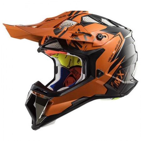 LS2 MX470 Subverter Emperor Black/Orange