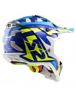 LS2 MX470 Subverter Nimble White/Blue/H-V Yellow