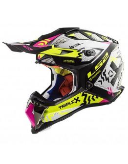 LS2 MX470 Subverter Triplex Black H-V Yellow/Pink