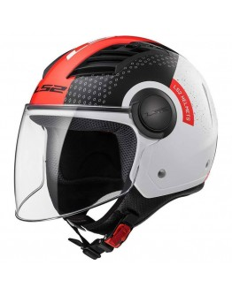 LS2 OF562 Airflow Condor White/Black/Red