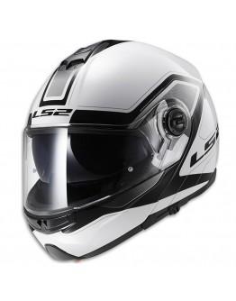 LS2 FF325 Strobe Civik White/Black
