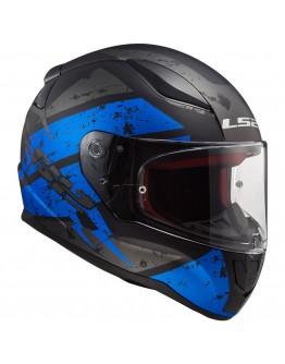 LS2 FF353 Rapid Deadbolt Matt Black/Blue