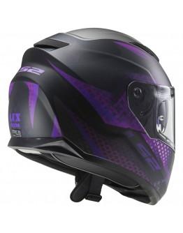 LS2 FF320 Stream Evo Lux Matt Black/Purple