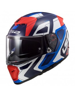 LS2 FF390 Breaker Android Blue/Red