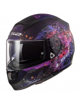 LS2 FF397 Vector HPFC Evo Cosmos Evo Matt Black/Pink