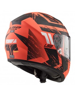 LS2 FF397 Vector HPFC Evo Hunter Matt Orange/Black