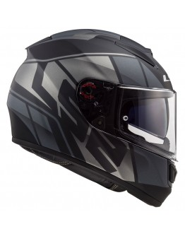 LS2 FF397 Vector HPFC Evo Kripton Matt Black/Titanium