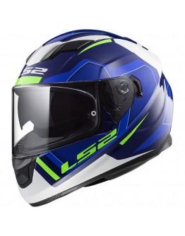 LS2 FF320 Stream Evo Axis White/Blue