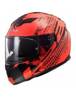 LS2 FF320 Stream Evo Lava Fluo Orange/Black