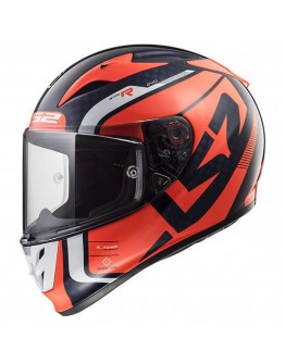 LS2 FF323 Arrow C Evo Sting Blue/Fluo/Orange