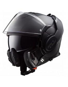 LS2 FF399 Valiant Noir Matt Black