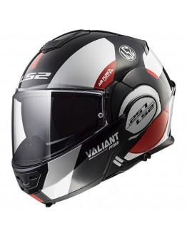 LS2 FF399 Valiant Avant White/Black/Red