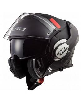 LS2 FF399 Valiant Prox Matt Black/Titanium