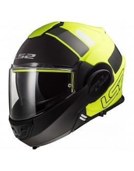LS2 FF399 Valiant Prox Matt H-V Yellow/Black
