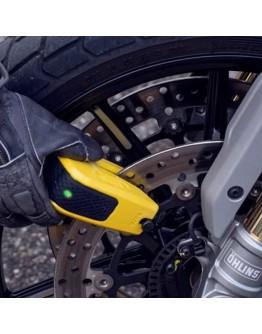 Abus Κλειδαριά Δισκοφρένου Granit Detecto SmartX 8078 Yellow