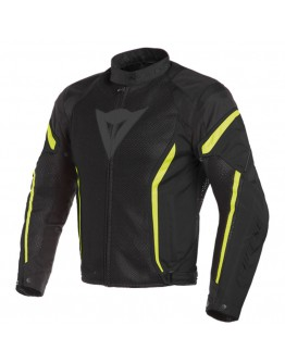 Dainese Air Crono 2 Tex Jacket Black/Black/Fluo-Yellow