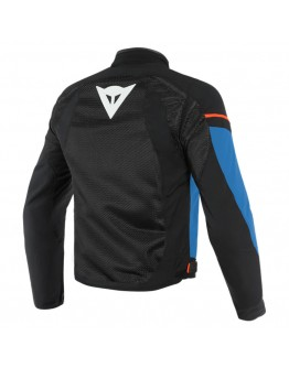 Dainese Air Frame D1 Tex Jacket Black/Light-Blue/Fluo-Red