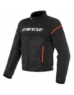 Dainese Air Frame D1 Tex Jacket Black/White/Fluo-Red