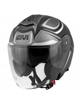Givi 12.3 Stratos Shade Mat Titan/Black/White
