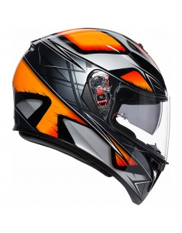 AGV K3 SV Liquefied Black/Orange