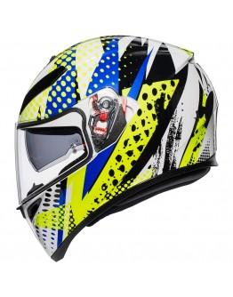 AGV K3 SV Pop White/Blue/Lime