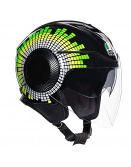 AGV Orbyt Ginza Black/Yellow/Green