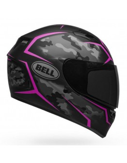 Bell Qualifier Stealth Camo Matte Black/Pink