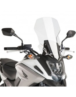 Puig Ζελατίνα Touring Honda NC750X 16-18 Clear