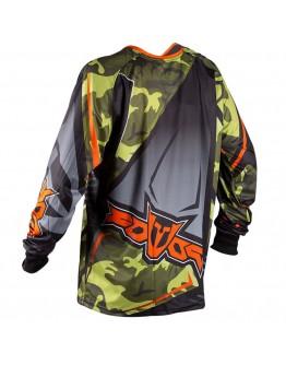 Fovos MX Μπλούζα Atlas II Black/Orange