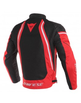 Dainese Air Crono 2 Tex Jacket Black/Red/White