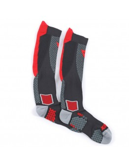 Dainese D-Core High Sock Κάλτσες Black/Red