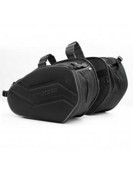 Nordcode Πλαϊνοί Σάκοι X-Cargo Black