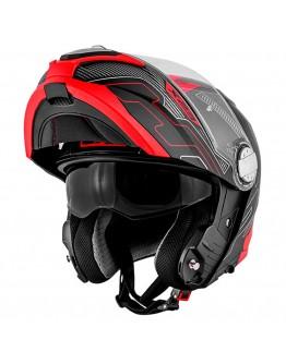 Givi X.23 Sydney Protect Matt Black/Titanium/Red