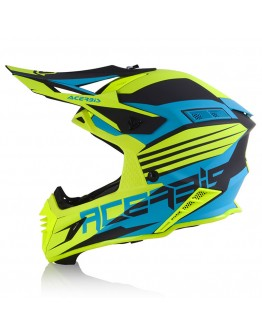 Acerbis X-Track VTR Turquoise/Fuo