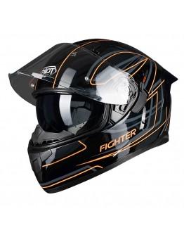 Pilot Flipper-Fighter Black/Orange