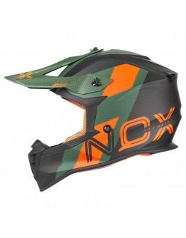 Nox N633 Viper Matt Green/Orange