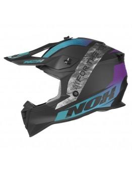 Nox N633 Onyx Matt Blue/Purple