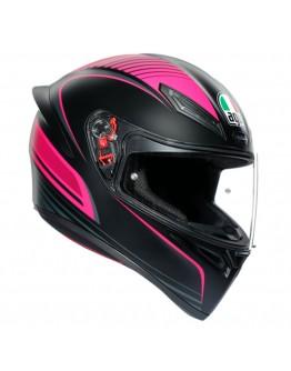 AGV K1 Warmup Black/Pink