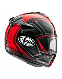 Arai Chaser-X Spine Fluor Red