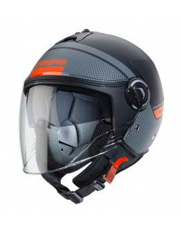 Caberg Riviera V4 Elite Black Matt/Antracite/Orange